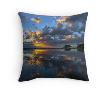 Nudgee Beach Dawn Throw Pillow