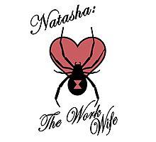 Natasha: The Work Wife Photographic Print