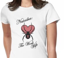 Natasha: The Work Wife Womens Fitted T-Shirt