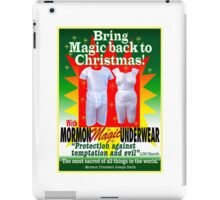 Mormon Underwear...Christmas Magic! iPad Case/Skin