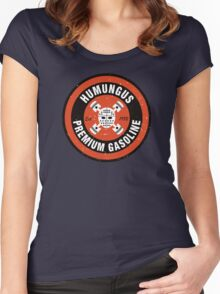 Humungus Premium Gasoline Women's Fitted Scoop T-Shirt