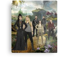 Once Upon a Time in Oz Metal Print