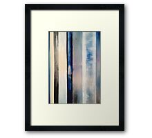 Vertical Thermocline Framed Print