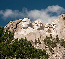 Mount Rushmore by JimGuy