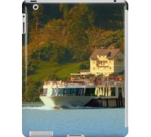 Cruise ship on the river Danube | waterscape photography iPad Case/Skin