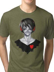 See, Hear, Speak no evil Tri-blend T-Shirt