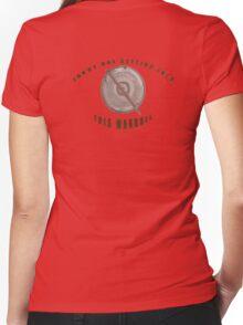 Locked Manhole Women's Fitted V-Neck T-Shirt
