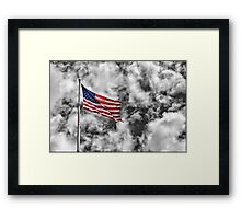 9/11 Tribute Framed Print