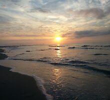 Beach Suntrise by Hope Kordalski