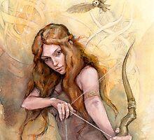 Celemon, Daughter Of Cei by Stonemaiden-Art