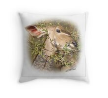 GREATER KUDU 1 Throw Pillow