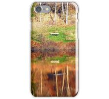 Water reflections on the river | waterscape photography iPhone Case/Skin