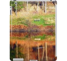 Water reflections on the river | waterscape photography iPad Case/Skin