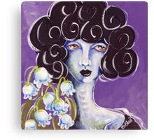 Flower Girl - Lily of the Valley Canvas Print