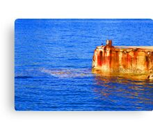 *We All Live In A Yellow Submarine* Canvas Print