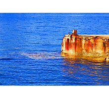 *We All Live In A Yellow Submarine* Photographic Print