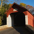 1873 Knecht's Bridge - Bucks County, PA by Anna Lisa Yoder