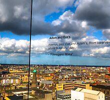 Guinness Storehouse view- Dublin Ireland by John Miner