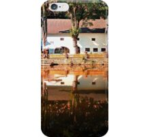 River reflections at the mill | waterscape photography iPhone Case/Skin