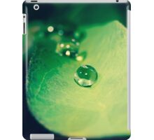 Drip drop drip drop drip drop iPad Case/Skin