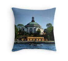 Slussen,Stockholm Throw Pillow