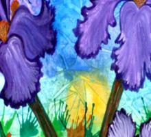 Iris at Sunrise Sticker