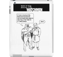 Digital Watchmen iPad Case/Skin