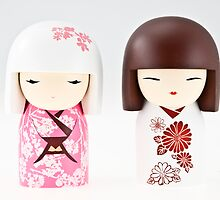 Little Chinese dolls. by cocoon