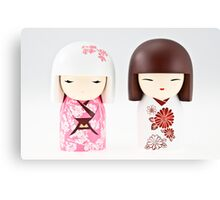 Little Chinese dolls. Canvas Print
