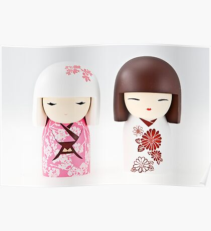 Little Chinese dolls. Poster