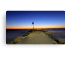 Dreamy Dusk At North Beach  Canvas Print