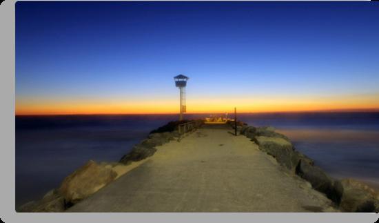 Dreamy Dusk At North Beach  by EOS20