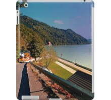 Road into Danube valley | waterscape photography iPad Case/Skin