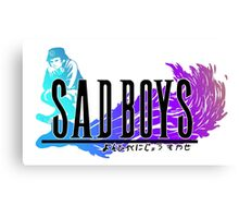 SADBOYS Final Fantasy Shirt Canvas Print