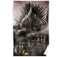 Godzilla, King of Thrones Poster