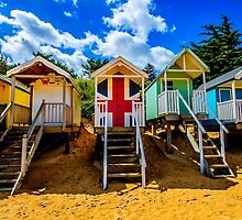 Union Jack Beach Hut 2 by Chris Thaxter