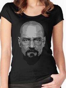 Breaking Bad - Heisenberg ( Vector ) Women's Fitted Scoop T-Shirt