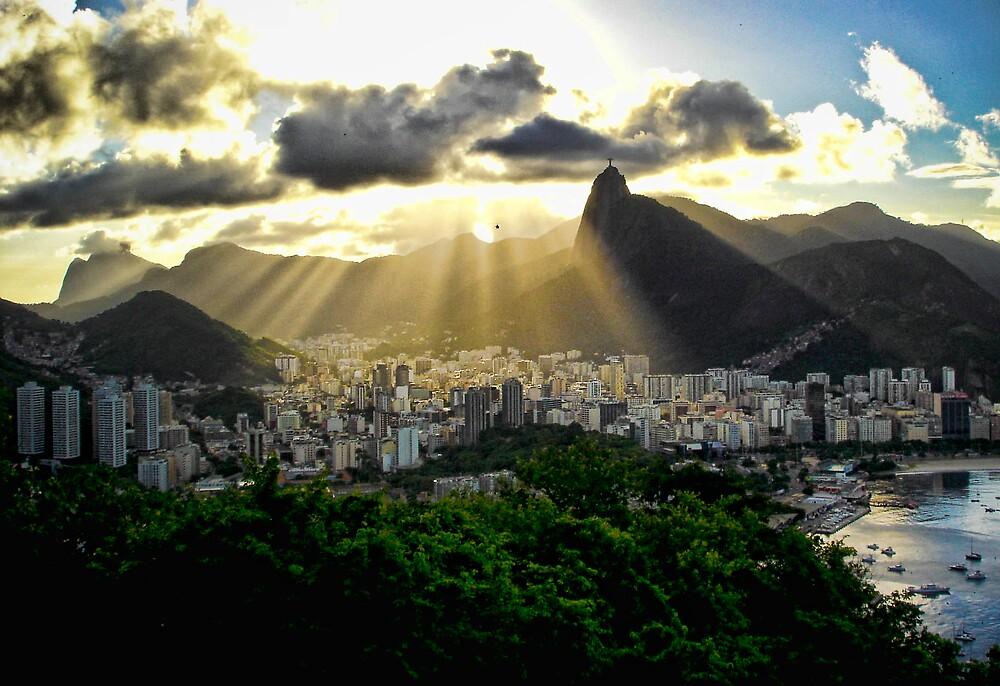 Rio Skyline by liamcarroll