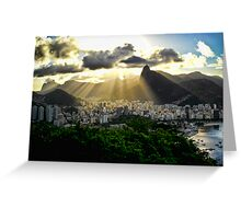 Rio Skyline Greeting Card