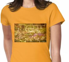 The Rose Garden Womens Fitted T-Shirt