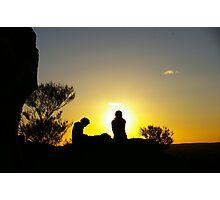 Sunset At Broken Hill Photographic Print