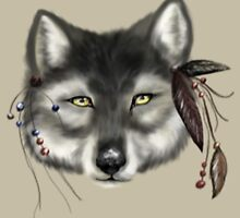 Indian Wolf  by frostwolf0303