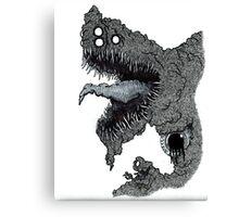 Psychedelic Demon Canvas Print