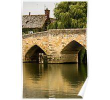 Newbridge, Oxfordshire Poster