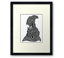 Psychedelic Demon Framed Print