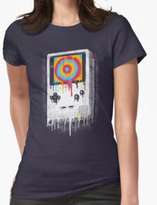 Color Womens Fitted T-Shirt