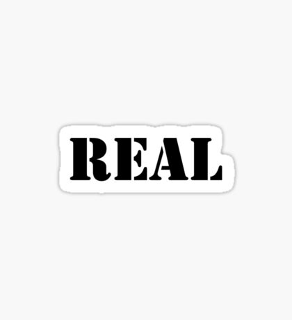 Real (Breasts) Sticker