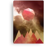 Gem Sun Canvas Print