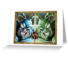 The Tick VS The Uncommon Cold Greeting Card