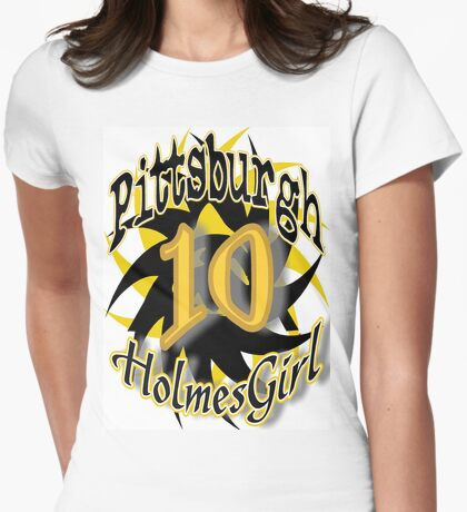 Pittsburgh HolmesGirl Womens Fitted T-Shirt